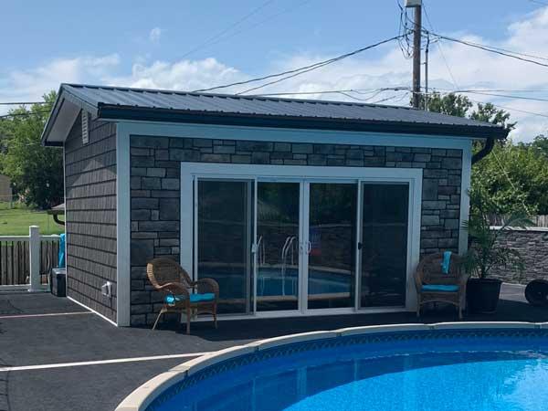 New Metal Roof Installation